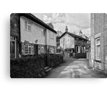 Village Cottages, Castleton Canvas Print