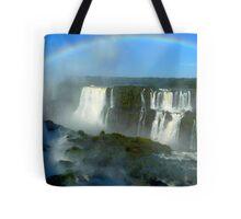 rainbow at Iguassu Falls Tote Bag