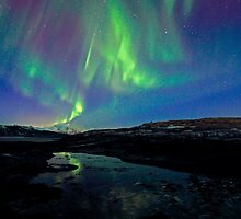 April Aurora by Frank Olsen