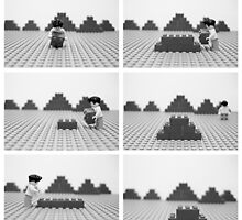 I Build A 'Lego' Pyramid by LeanneMM