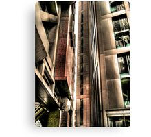 Steel Lines (HDR) Canvas Print