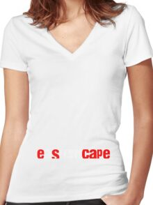 eastern cape Women's Fitted V-Neck T-Shirt