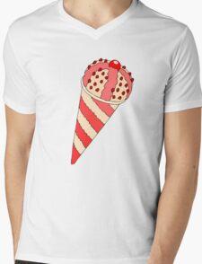I Scream 4 Ice Cream Mens V-Neck T-Shirt