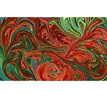 Colorful swirls Photographic Print
