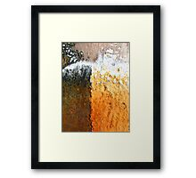 Urban Attrition Framed Print