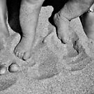 Feet in the sands of time.. by Tigersoul