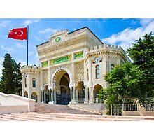 Istanbul University, TURKEY Photographic Print
