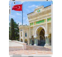 Istanbul University, TURKEY iPad Case/Skin