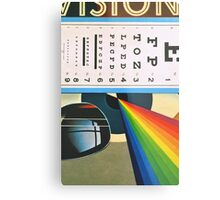 The Horizontal Eye Test. Metal Print