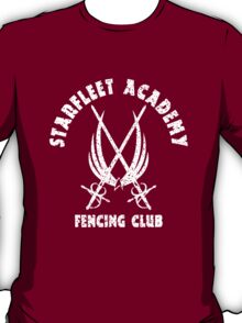 Exclusive Starfleet Academy Fencing Club T-Shirt
