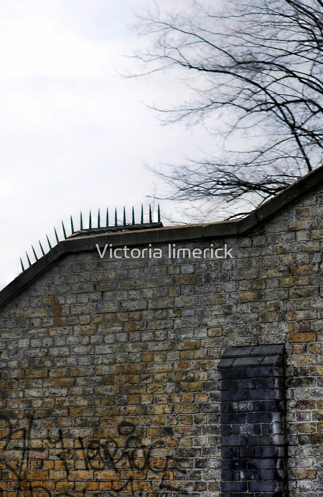 Bridge Wall - Burgess Park by Victoria limerick