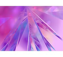 Shards of Colour Photographic Print