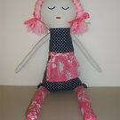 Handmade rag doll - Lucy by Naomi  O'Connor