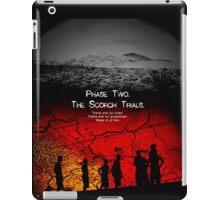 the scorch trials novel iPad Case/Skin