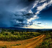 Storm clouds over Boonah by resonate