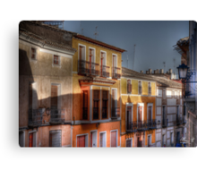 Calle del Caño - Mula (Spain) - (treatment 2) Canvas Print