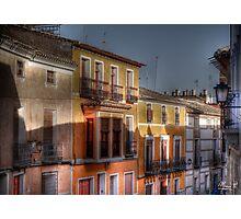 Calle del Caño - Mula (Spain) - (treatment 2) Photographic Print