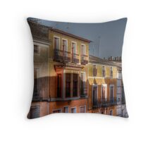 Calle del Caño - Mula (Spain) - (treatment 2) Throw Pillow