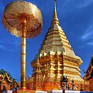 Phrathat Doi Suthep Temple by Adrian Evans