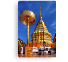 Phrathat Doi Suthep Temple Canvas Print