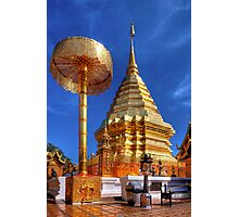 Phrathat Doi Suthep Temple Photographic Print