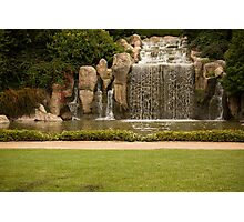 The Waterfall - Hunter Valley Gardens Series Photographic Print