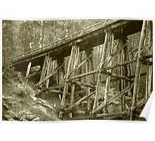 Trestle Bridge - Noojee Poster
