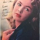 Sandra Dee personalized autographed 1999 by John Dicandia  ( JinnDoW )