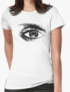 The pain through my eye Womens Fitted T-Shirt