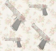 Floral guns by leow4life