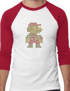Nes Cartridge Mario Men's Baseball ¾ T-Shirt