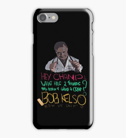 Scrubs - Dr Kelso iPhone Case/Skin