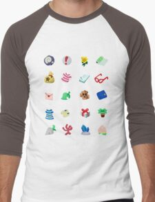 Animal Crossing: Your Pockets Are Full Men's Baseball ¾ T-Shirt
