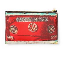 Glitter red VW Studio Pouch