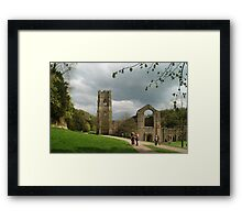 At Fountains Abbey Framed Print