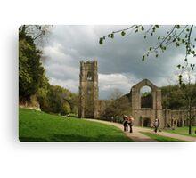 At Fountains Abbey Canvas Print