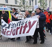 Anti austerity march, Hastings by David Fowler