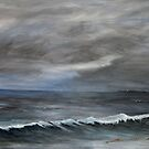 Evening sea by Linda Ridpath