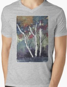 The dark forest  Mens V-Neck T-Shirt
