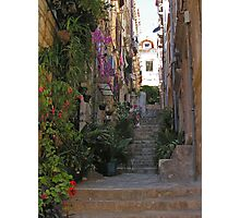 Old Town Living, Croatia Photographic Print