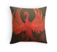 Phoenix Rising Throw Pillow