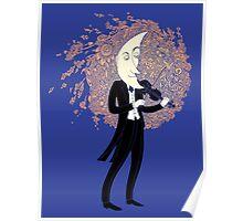 Moonlight Nocturne for Violin Poster