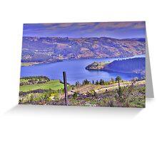 Chilean Landscape - Lleu Lleu Greeting Card