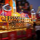 The ride was all a blur. by Distan