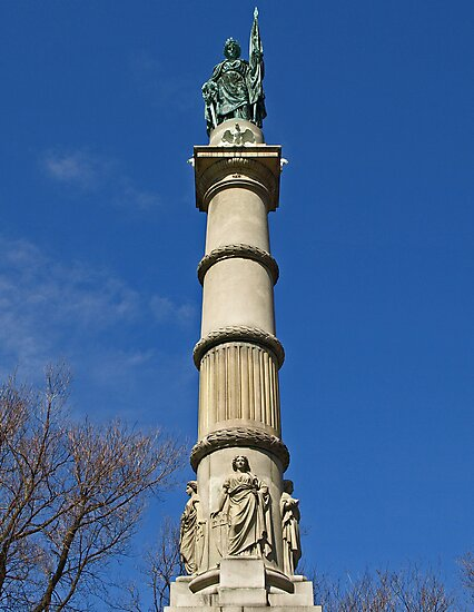 Soldiers and Sailors Monument by Lee d'Entremont