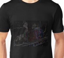 Glowing Train Unisex T-Shirt