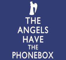 The Angels have the Phonebox - Keep Calm Spoof by jelitan