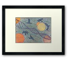 The Escape. Framed Print