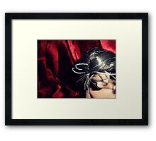 Meanwhile....Ditched In The Black Lodge Framed Print