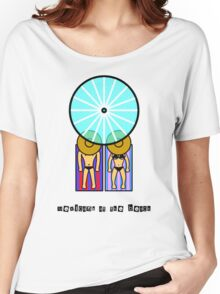 Mexican Hats at the beach Women's Relaxed Fit T-Shirt